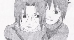 The Uchiha Brothers by melia161