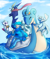 MSA x PKMN: Too Much Water, 7.8 by BechnoKid