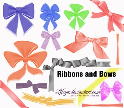 Ribbons and Bows by Lileya