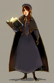 Scholar by aliencake