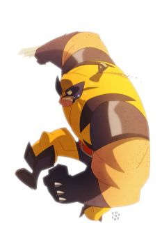 Wolvie by cheeks-74