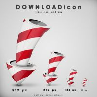 Rocket-download icon by wall-e-ps