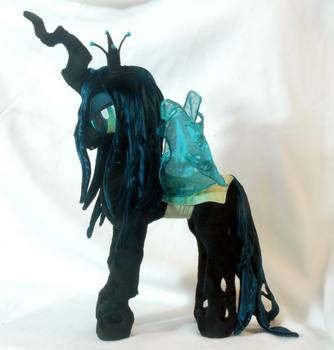 Queen Chrysalis Plushie by WhiteHeather