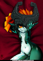 Midna from Zelda Fanart by dashahead