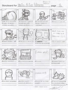 Storyboard - VALV 13 by darkarcompany