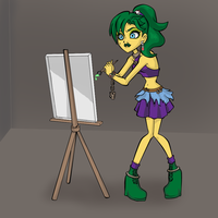 Art Trade: Monster High Igora by Shadow-People