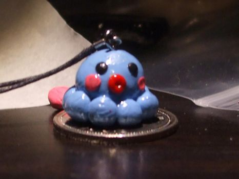 Cute blue octopus cell charm by artisanbabes