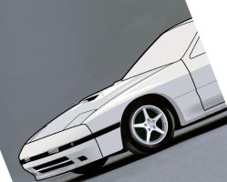 RX-7 GT Limited toon WIP by cjec21