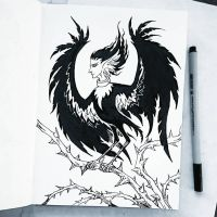 Instaart - Harpy by Candra