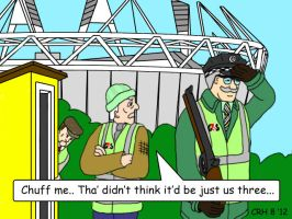 Summer Wine Olympics Security by MST3Claye