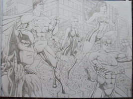 justice league november 2010 by SUPERTIAGOF