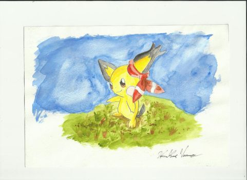 Pichu by Admiral-Kevin