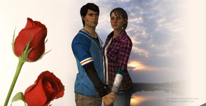 Javier x Kate by evil-bearrr
