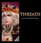Threads Artbook preview by antique-teacup