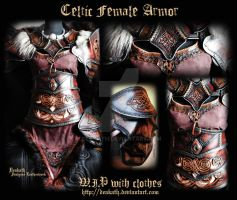 Celtic Female Armor and Clothes - last WIP by Deakath