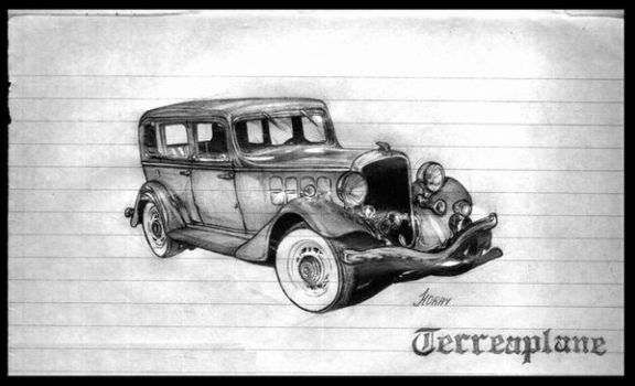 Ford Terreaplane by figmentum
