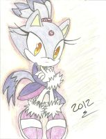 Blaze The Cat by Yosimio