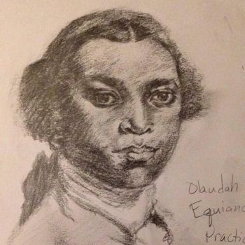 Olaudah Equiano sketch by PaintedLiLy