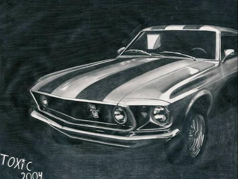 Ford Mustang by the-one-and-only-TOX