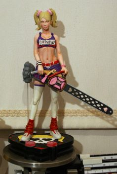 Lollipop Chainsaw paint progress by chriswalsh