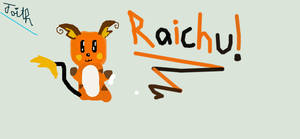 Attempt To Draw Raichu by faither1382