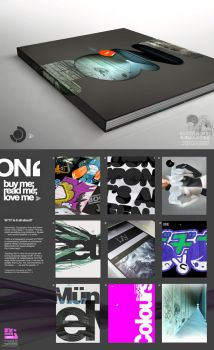 'ON' promotional poster by Sonicbeanz