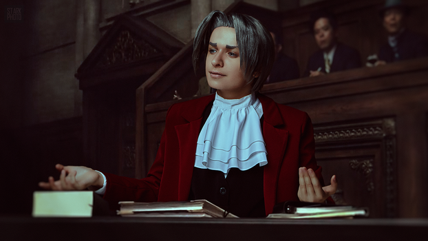 Miles Edgeworth cosplay [9/13] by Jehan-Lavellan