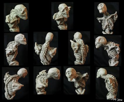 Gaster: Transfiguration maquette by LucrataNexarii