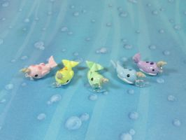 Charms: Narwhal by okapirose