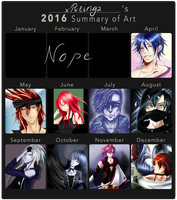 Summary of Art 2016 by xReinga