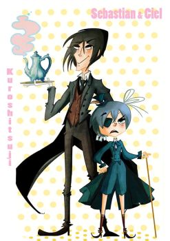 SEBASTIAN and CIEL by MariChan27