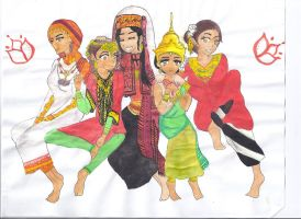 Women's traditional clothing by MiddleEastAPH