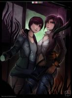 Claire And Moira - Resident Evil by CatCouch