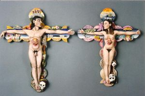 Crucified Couple by jessica-romero