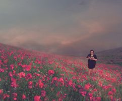 Peacefull Field by Mr-Bastos