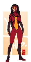 Spider Woman by Maiss-Thro