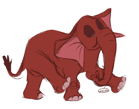 Tantor by W-a-n-d-a
