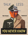 Paramerican WWII Poster - YOU NEVER KNOW! by Paramountica