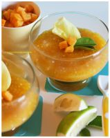 Golden Pineapple Tapioca by theresahelmer
