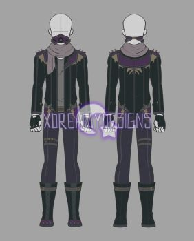 Custom Clothing Commission for Meloki (1/3) by xDreamyDesigns