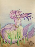 Request: Blaze the Mermaid by KeiraTheTiger
