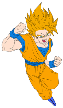 DragonBall Z Colorize WIP by creativen3rd