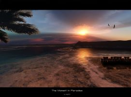 The moment in Paradise by stg123