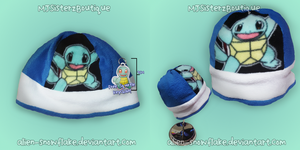 Pokemon Squirtle Hat by Alien-Snowflake