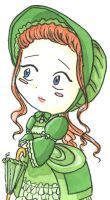 Victorian lady, couleur by Soji-chan