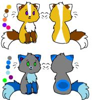 5 Point Cat Adopts (Open!) by Toontown-Points