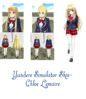 hair style simulator yandere simulator summer skin by floorcakelol on 2541