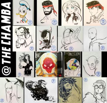 Supanova Melbourne 2017 - Artwork Compilation by theCHAMBA
