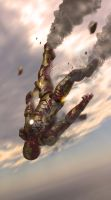 Fall of Ironman by ConvoyKaiser