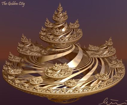 The Golden City by one-tough-one